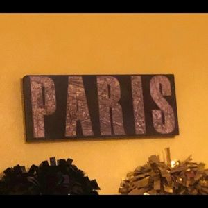Other - Paris Wall piece